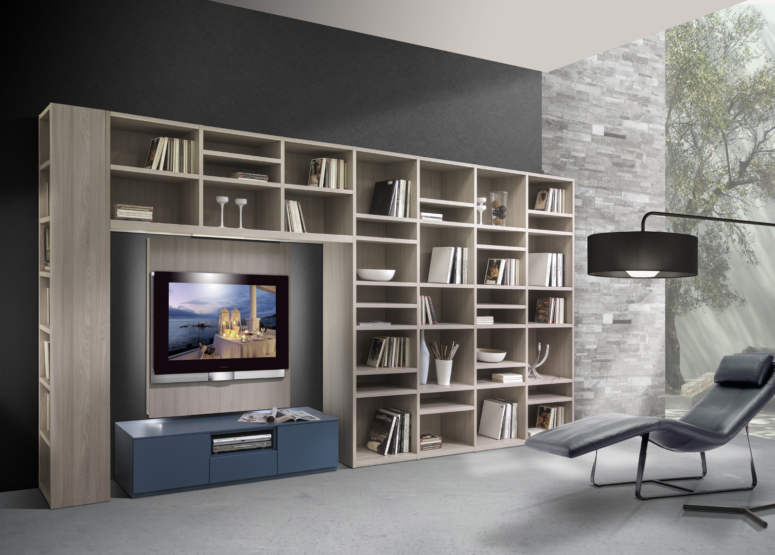 giornopergiorno ? living by giessegi ? mobili filomia - Soggiorno Giessegi