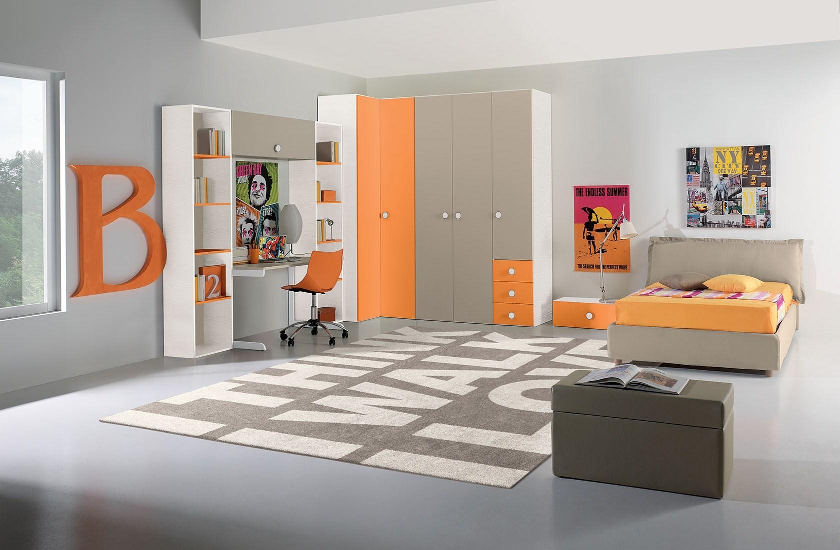 Girotondo camere per ragazzi mobili filomia for Camere per ragazzi