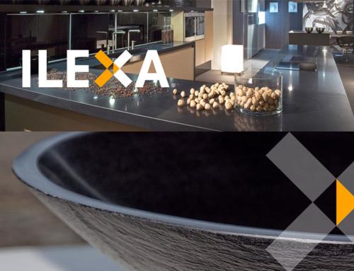 ILEXA Piano cucina in Agglomerato di Quarzo