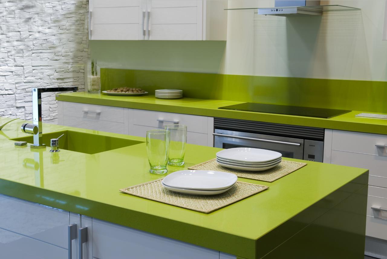 Ilexa piano cucina in agglomerato di quarzo mobili filomia - Quarzo piano cucina ...