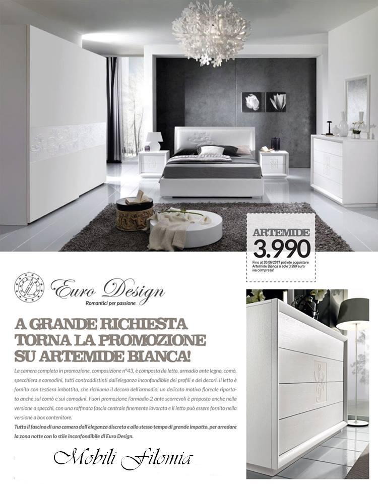 100 como per camera da letto dragtime for 100 for Euro design mobili